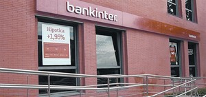 Campaña publicitaria de Bankinter para difundir su último producto hipotecario.