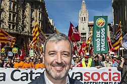 """Jaume Collboni: """"El PSC ha abierto sus puertas. Ahora no las debería cerrar"""""""