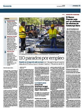 El banco popular puja por un centenar de oficinas de for Catalunya banc oficinas