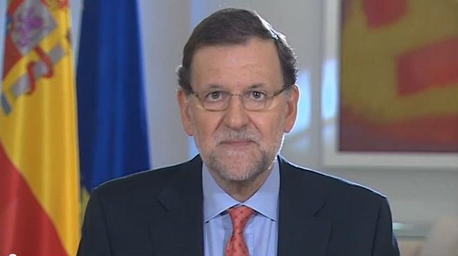 Mensaje de Mariano Rajoy valorando el resultado del refer�ndum de Escocia