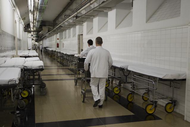Instalaciones del Hospital Clínic de Barcelona.