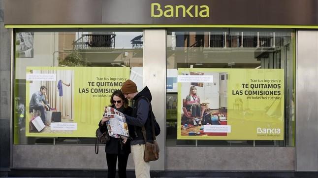 Oficina de Bankia en Sevilla.