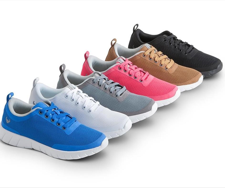 Un calzado que favorece la salud de la espalda y el confort en la pisada