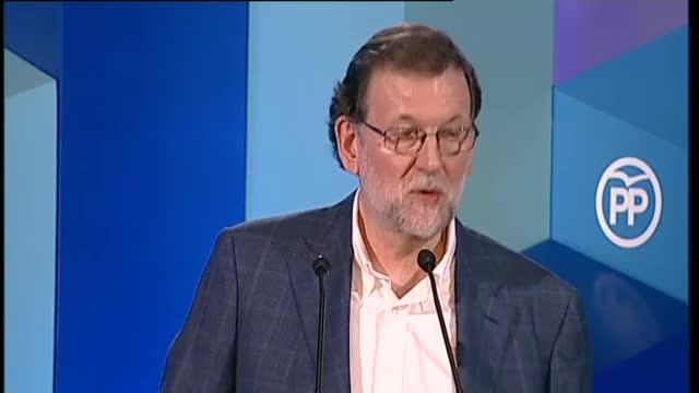 Mariano Rajoy manda un mensaje de unidad respecto a Cataluña