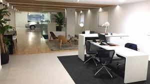 Interior del nuevo concesionario de Volvo Ronda 15.