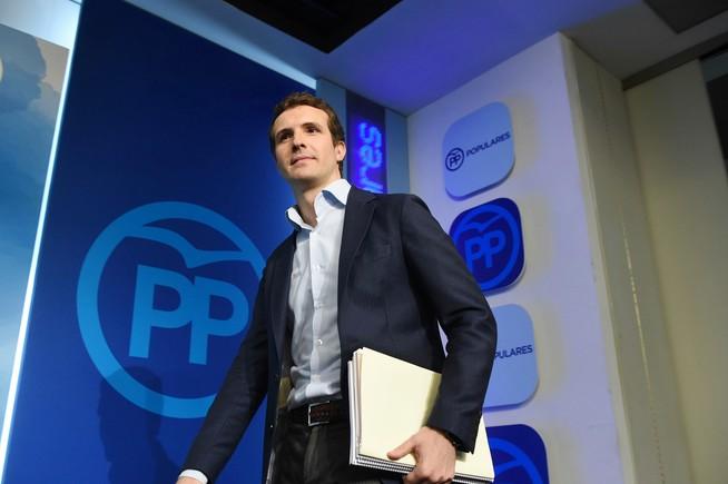 Pablo Casado será presidente del Comité Electoral del PP de Madrid