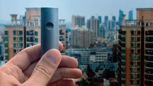 Imagen promocional del monitor de poluci�n Atmotube.
