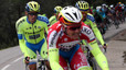 Contador ataca i Valverde cau a la Volta