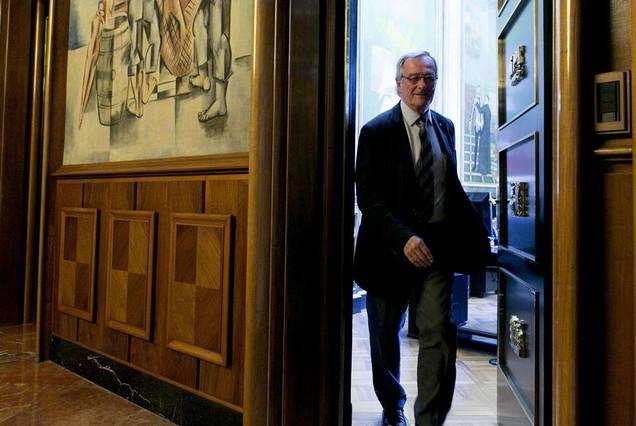 Anticorrupción archiva la causa de la cuenta falsa de Trias en Suiza