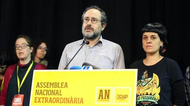 """Antonio Baños: """"La CUP no está dividida, solo hay divergencias en un tema: Artur Mas"""""""