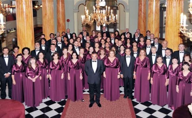 El Cor del Gran Teatre del Liceu act�a en el Auditori de Cornell�