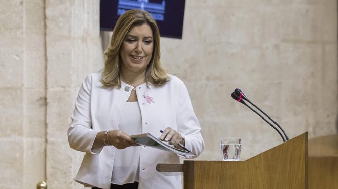 Susana Díaz demana una investidura ara mateix per afrontar el desafiament independentista