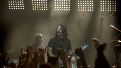 Tres horas de Foo Fighters en Barcelona
