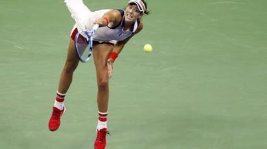 Nova York es queda sense tennistes espanyoles