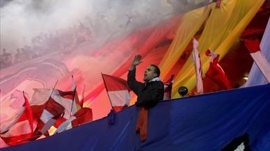 Un partido de bandera