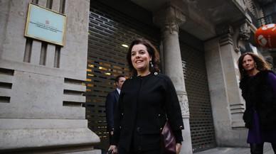 Sáenz de Santamaría presideix l'entrega del premi Empresa de l'Any