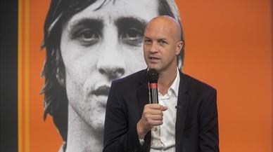 Jordi Cruyff: «Es fa difícil parlar del meu pare en passat, sé que està present»