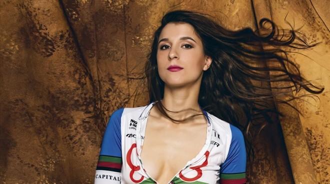 Joana Monteiro, en la portada de 'Interviu'.