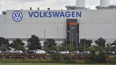 Planta de Volkswagen en Zwizkau, en Alemania.