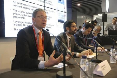 Presentación del Mobile Connect en el Mobile World Congress.