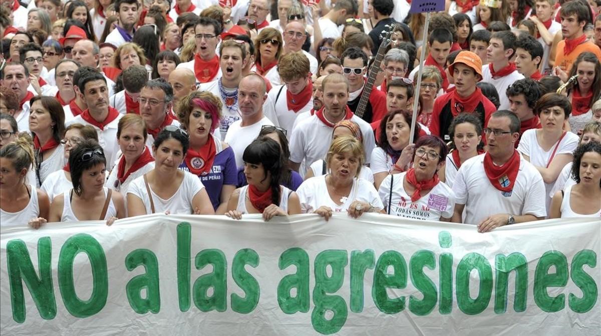 El fiscal pide 22 años para cada uno de los acusados por la violación múltiple de Sanfermines