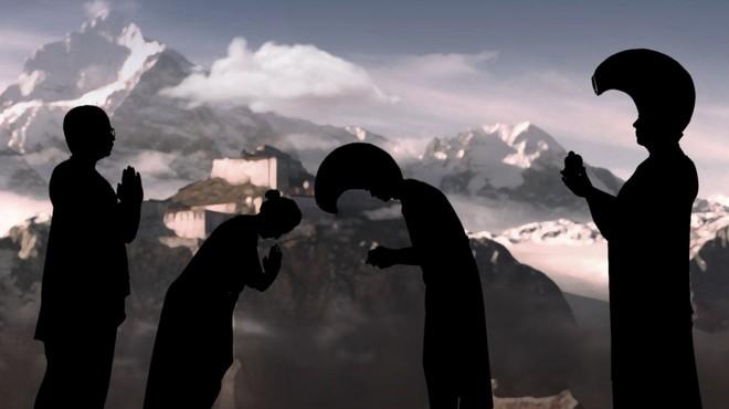 Una imagen del cap�tulo de la serie documental 'Mujeres viajeras', dedicado a Alexandra David-N�el.