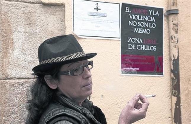 prostitutas raval barcelona femenina sinonimos