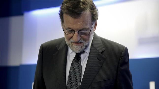 """Rajoy, sobre el seu futur: """"Tinc for�a per fer coses molt diverses"""""""