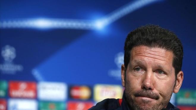 Simeone està convençut que l'Atlètic arriba a la final de Milà millor que a la de Lisboa