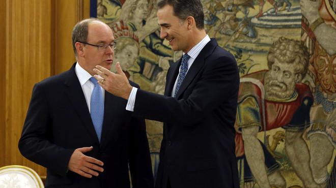 Albert de Mònaco sopa amb Isabel Preysler i 200 convidats més a Madrid
