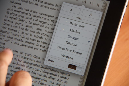 Libro digital en un e-reader.