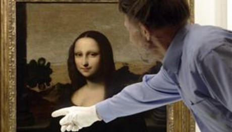'La Mona Lisa de Isleworth', supuestamente pintada por Da Vinci.