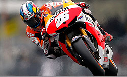 Dani Pedrosa, en Le Mans. REUTERS
