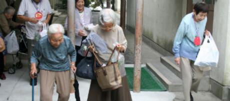 Día del Reconocimiento de los Ancianos en Kyoto.