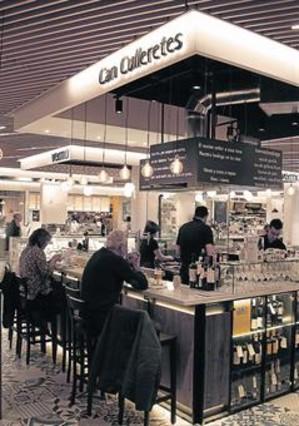 El centro comercial gl ries ofrece espacio para for El mercat de les glories