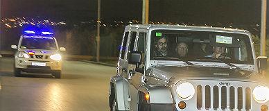 Josep Llu�s N��ez entra en la c�rcel de Quatre Camins, el pasado 16 de noviembre.