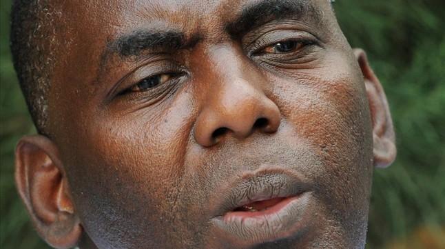 El activista antiesclavista Biram uld Abeid uld Dah el pasado junio en Nouackchott, Mauritania.