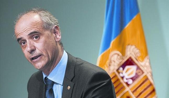 Antoni Martí, reelegido presidente del Govern dAndorra.