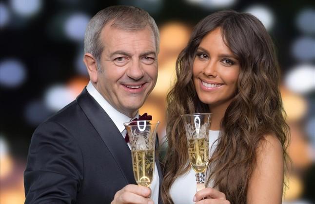 Cristina Pedroche y Carlos Sobera