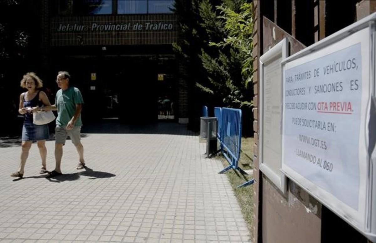 La falta de personal colapsa la atenci n al ciudadano de - Jefatura provincial de trafico madrid ...