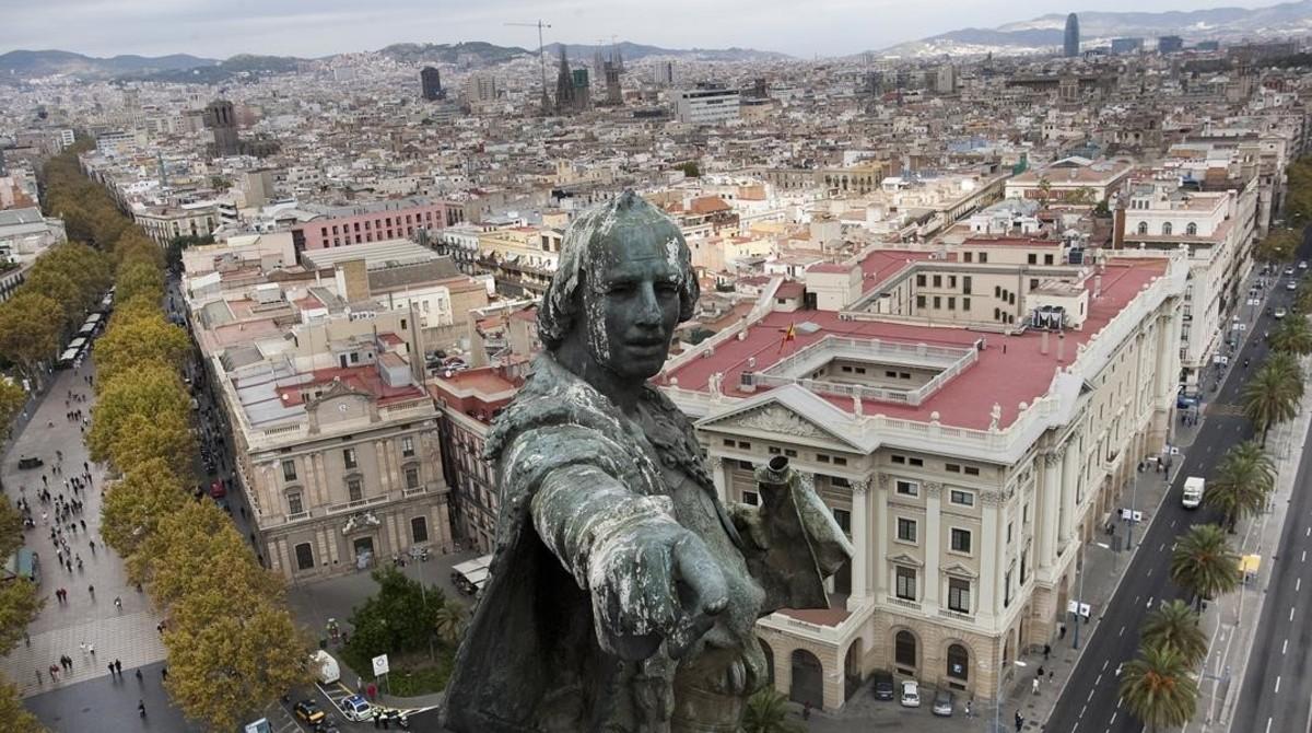 Resultado de imagen de Colon en barcelona