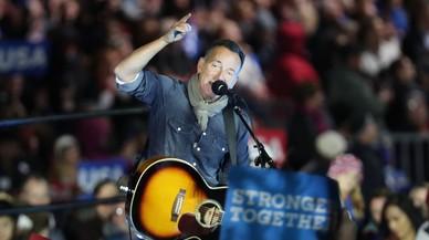 Música de Springsteen per donar la benvinguda a Trump