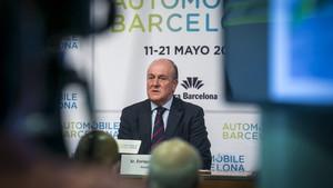 Enrique Lacalle, presidente del Automobile Barcelona.