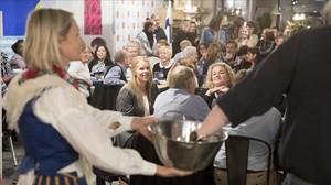 Barceloneando Una cena finlandesa