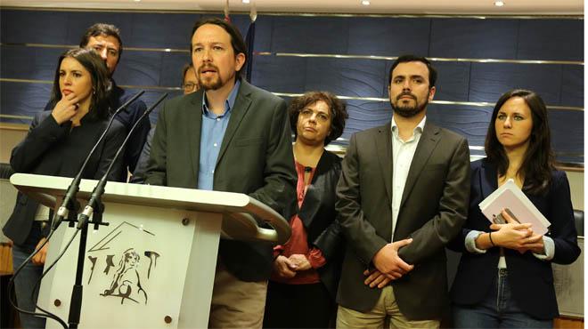 Unidos Podemos inicia conversaciones para presentar una moción de censura al Gobierno