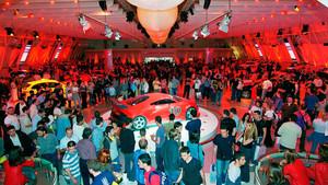 Presentación del Leon Cupra en el salón de 2003.