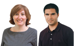 Elena Sánchez-Montijano i Jonathan Zaragoza-Cristiani