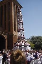 Los Minyons, durante el Corpus de Cornellà.