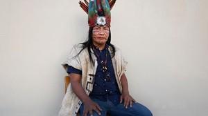 zentauroepp38998549 barcelona 21 06 2017 manari ushigua jefe tribal de los s pa170625211100