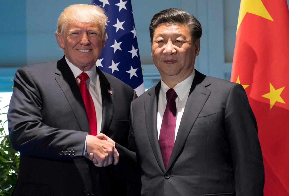 Trump y Xi Jinping, el pasado 8 de julio, en Hamburgo.